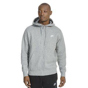 nike club sportswear full zip hoodie